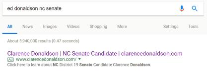 google donaldson ad